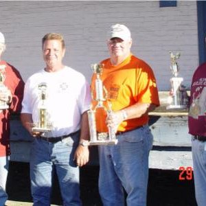 2006 Grand Champs BBQ cookoff; Elks Lodge Cookers: Bill Harvey, Tony Grecco, Mike Henderson, John Carter