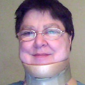 After my cervical laminectomy. Not too bad in late autumn, but would have been unbearable in summer heat.