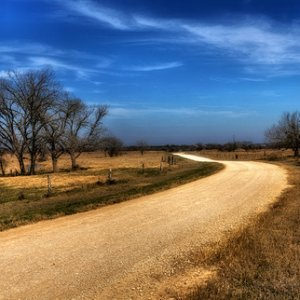 Out on the backroads...