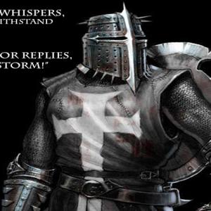CHRISTIAN KNIGHT STORM WARRIOR